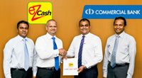 eZ Cash Withdrawal at Commercial Bank ATMs