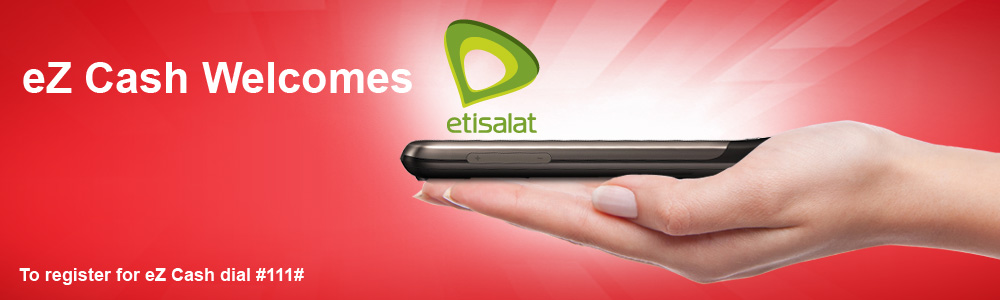Etisalat joined eZ Cash
